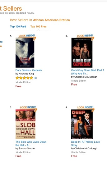#1 in AA Erotica Top 100 Free