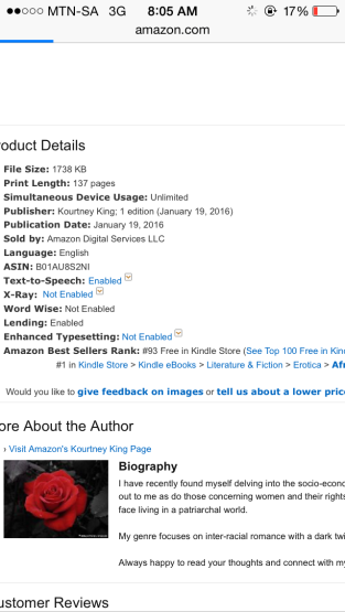 #93 in Free in Kindle Store